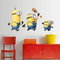 Minions muursticker / Despicable Me / Minions stickers  Gitaar 45 x 75 cm
