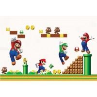 Mario World / Super Mario Sticker Muursticker