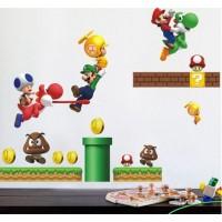 Mario / Super Mario / Nintendo Sticker Muursticker