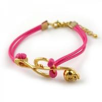 Tasjie Armband Music rose rosé