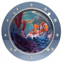 Finding Dory / Finding Nemo Sticker Muursticker Rond - 43 x 43 cm