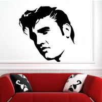 Elvis Presley singer sticker