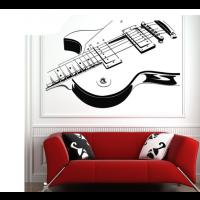 electrische gitaar sticker