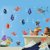 Finding Dory / Finding Nemo Sticker Muursticker - 45 x 60 cm