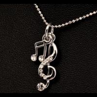 Muziek noten ketting