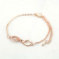 Tasjie Armband rosekleur handboeien