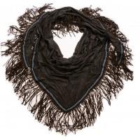 Tasjie sjaal suede groen stretch