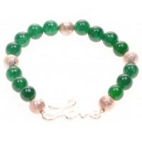 Tasjie Armband Love groen