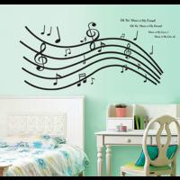 Music is my friend sticker