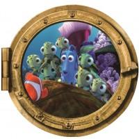 Finding Dory / Finding Nemo Sticker Muursticker Rond - 45 x 43 cm